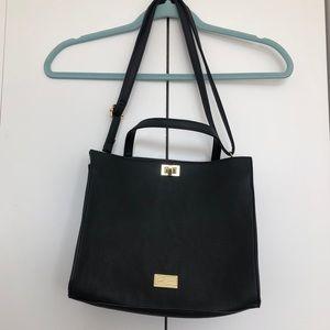 NWOT Betsey Johnson Black Crossbody Bag